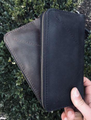 Клатч мужской,кожаный,портмоне,кошелек