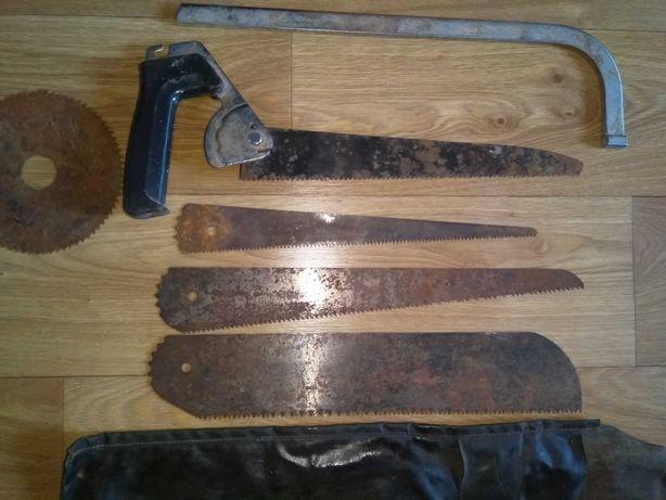 Пила/ножовка АРС 4А-04 со сменными полотнами