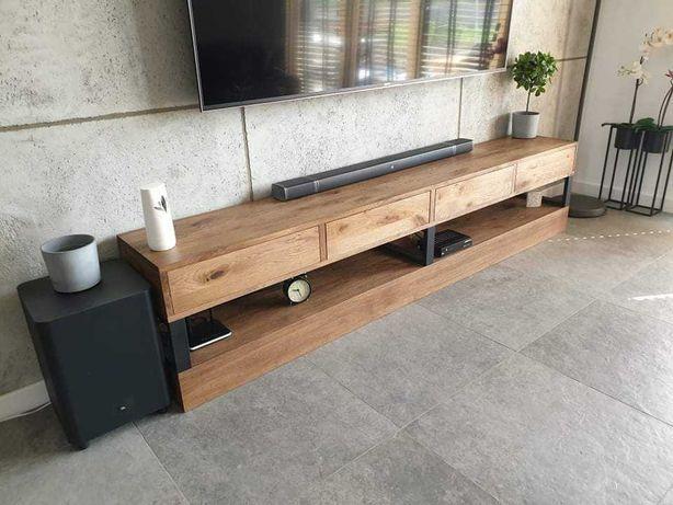 Toaletka , konsola do salonu, loft, stół dębowy , stolik