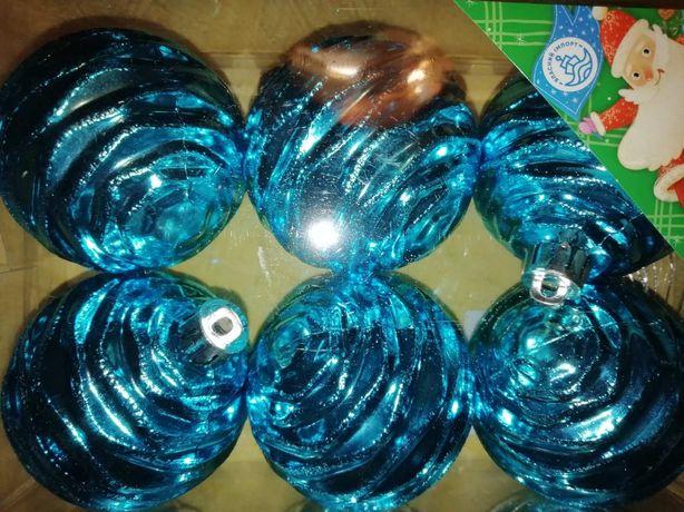 Набор новогодних шариков игрушек
