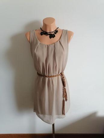 Sukienka letnia cappuccino