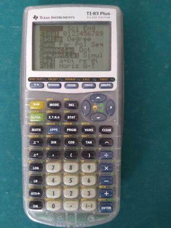 Calculadora Gráfica  TI-83 Plus Silver Edition (tampa preta)