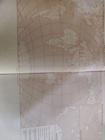 Контурная карта по Всемирной истории