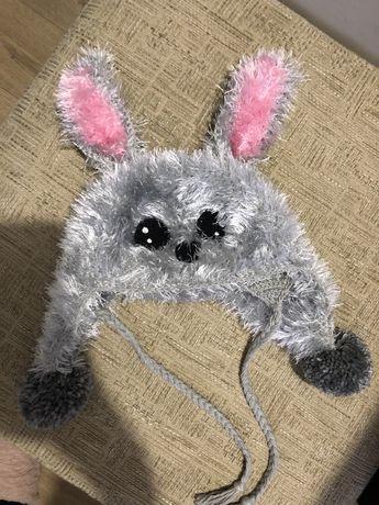 Шапка заяц