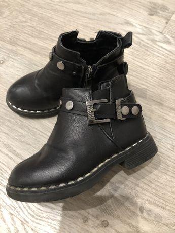 Актуальные стильные ботинки демисезон