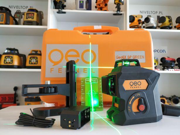 Laser 3D Geo Fennel Geo6X SP GREEN 3x360 ZIELONY krzyżowy
