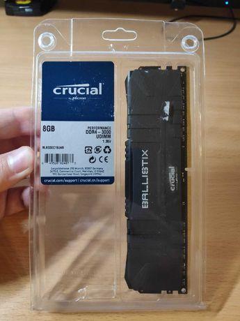 Оперативная память Crucial Ballistix DDR4 8GB, - 32GB 3000 Mhz Новая!