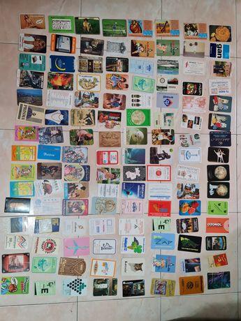 Colecção 600 calendários anos 80