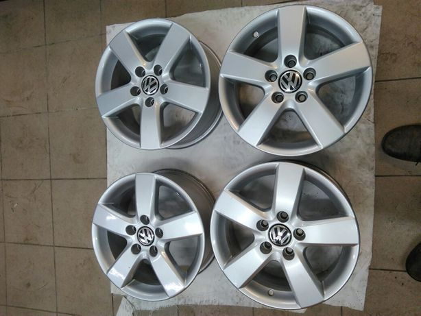 "Felgi aluminiowe 16"" 5x112 6,5x16 et 50 VW"
