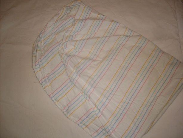 простынь с резинкой на детскую кроватку