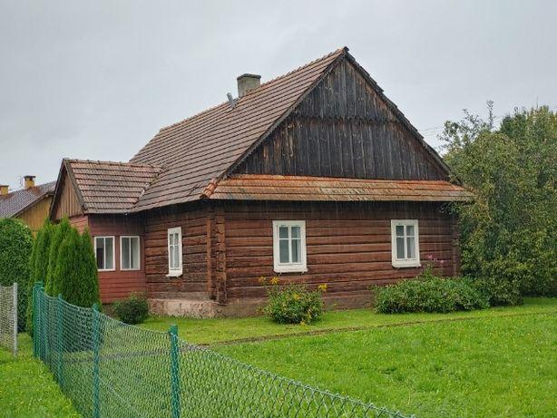 Sprzedam piękny drewniany dom z bala 13,50m x 8,10m