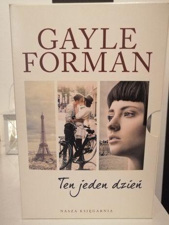 "Zestaw książek Gayle Forman ""Ten jeden dzień"", ""Ten jeden rok"""