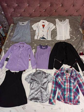 Летние блузки, платья, футболки, джинсы, рубашки, юбки, шорты. На 9-16