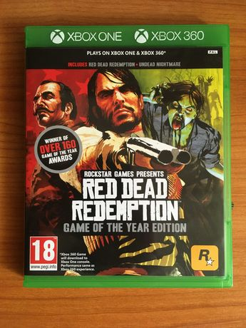 RDR - Red Dead Redemption 1 - Game of The Year Edition - Xbox One
