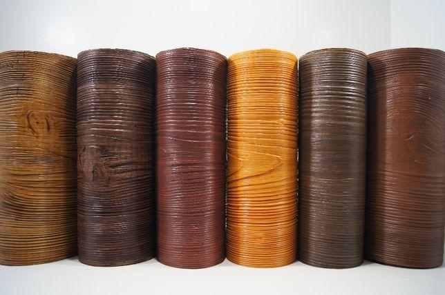 Deska elewacyjna, imitacja drewna, elastyczna, zestaw Dekorlux