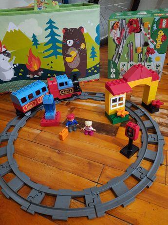 Лего дупло мой первый поезд