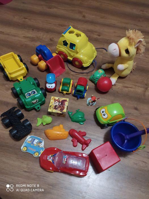 Пакет игрушек(машинки) для мальчика Черкассы - изображение 1