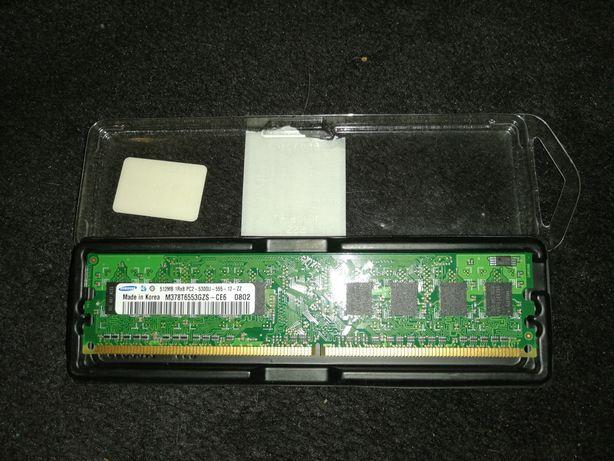 Оперативная память Samsung 512 mb DDR2 667mGz