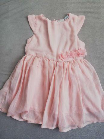 Śliczna sukienka dla dziewczynki 62/68