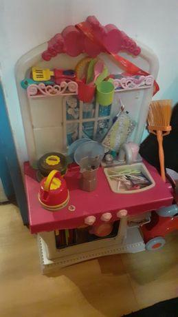 Cozinha de brincar com acessorio