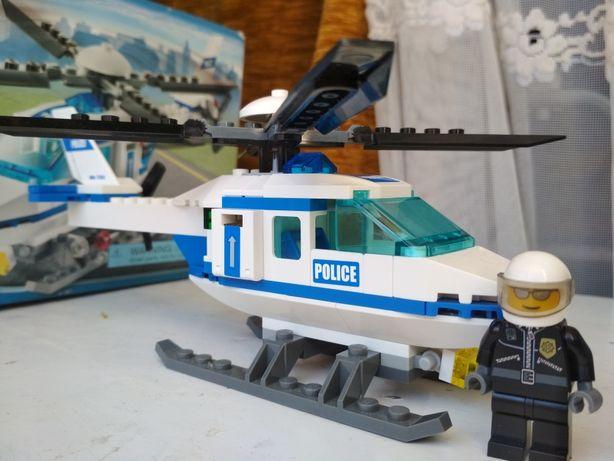 Lego City Полицейский вертолет