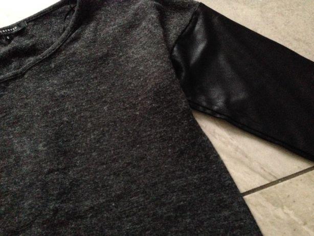Bluzka grafit czarna S