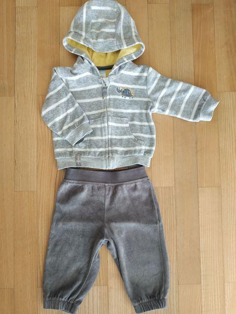 Dres Cool Club r.68, bluza z kapturem i spodnie