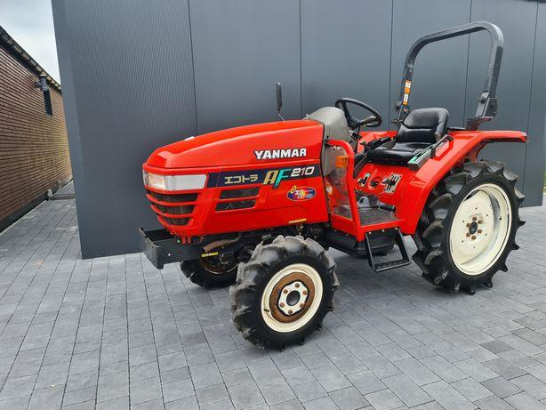 Mini traktor Yanmar AF210,wspomaganie,rewers,mały traktorek,ogrodniczy