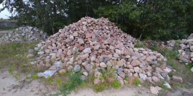 kamień brukowy sortowany, kamien polny