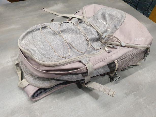 Plecak miejski rowerowy Vaude Gulmen 19 laptop szary stelaż