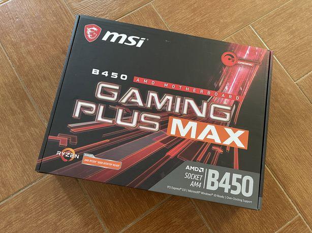 Motherboard MSI B450 Gaming Plus Max - NOVA