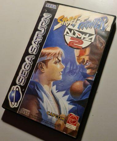 Street Fighter Alpha 2 Saturn