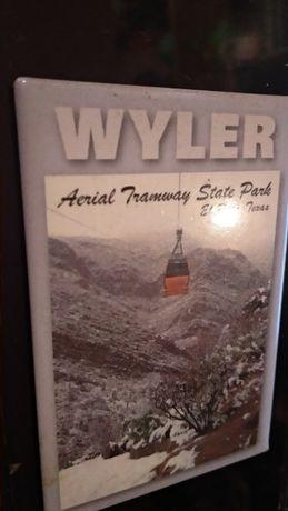 подарок из Техаса Texas WALER AERIAL TRAMWAY STATE PARK магнит сувенир