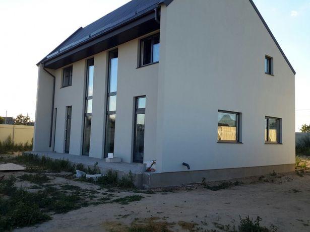 Строительство домов4900- 5400грн/м2.Кладка газоблока,кровля.