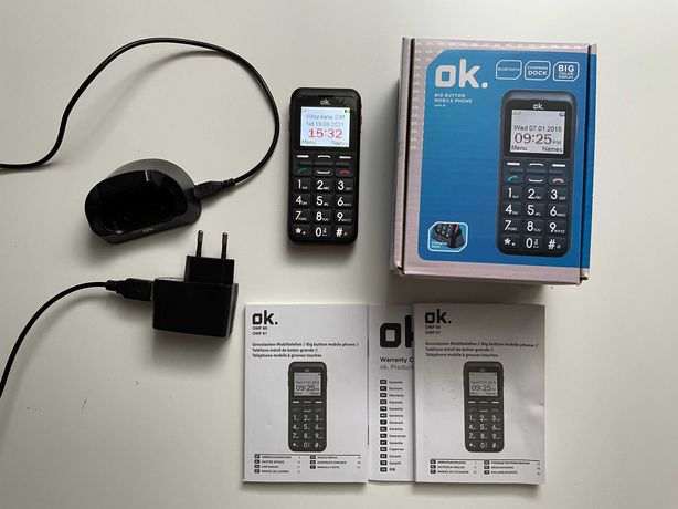 Telefon Komórkowy OK OMP 81  Super Stan