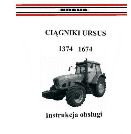 Instrukcja obsługi ciągnika ursus 1374, 1674
