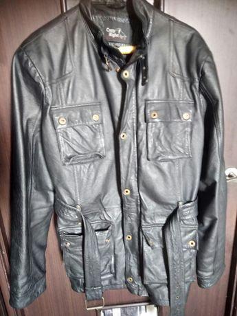 Кожаная куртка в чекистском стиле