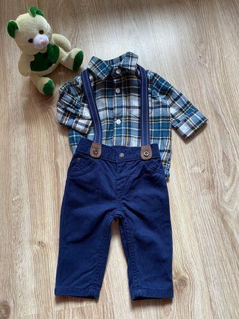 Рубашка и брюки 0-3 месяца