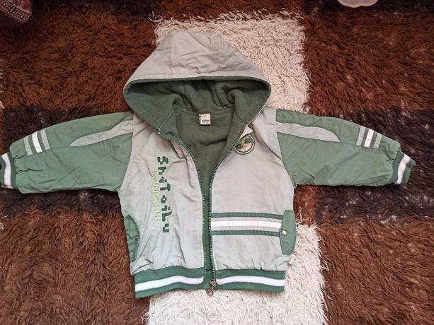 Курточка осіння розмір 100