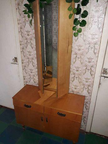 ТУАЛЕТНЫЙ СТОЛИК, трюмо с зеркалами, тумба с зеркалом, трельяж, тумба