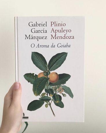 """Livro """"O Aroma da Goiaba"""" de Gabriel García Márquez"""