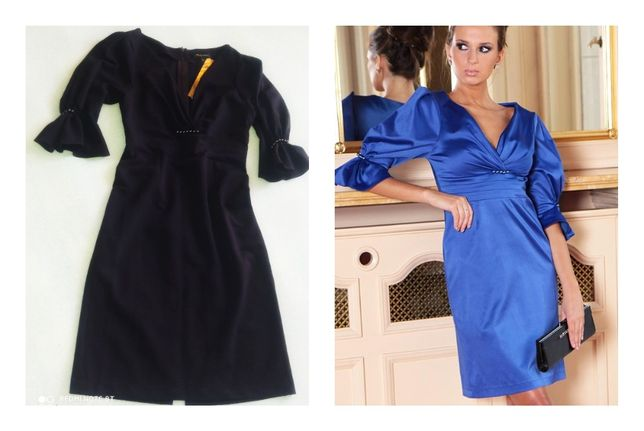Sukienka Kalina fiolet r.36 (M) N012