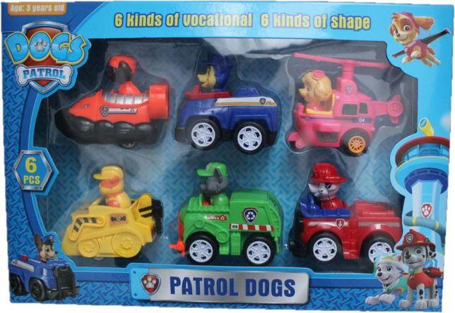 figurki psi patrol 6 sz