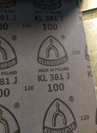 Papier ścierny KLINGSPOR KL 381 J P80 25m x 150mm