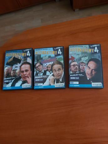 Serial na płycie DVD Alternatywy 4