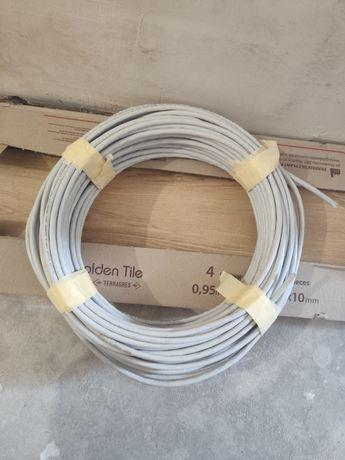 Витая пара кабель компьютерный 6-ая категория, 8 жил. 40 метров