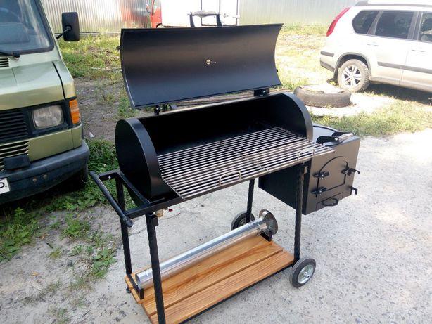 Смокер, гриль-барбекю, печь для казана