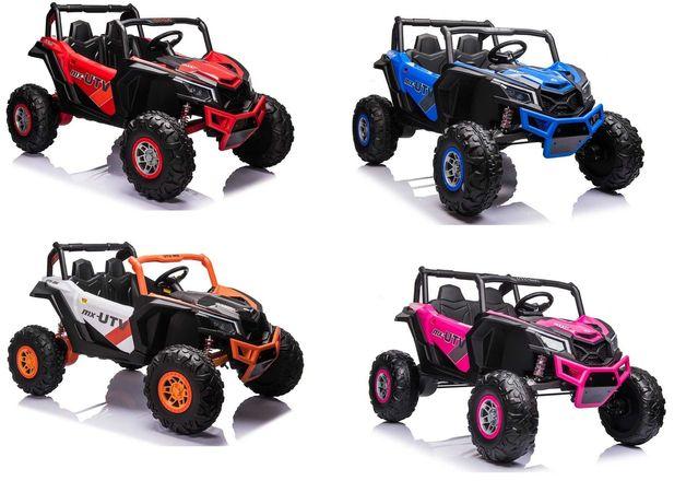Buggy UTV-MX Różowy MP4 Samochód elektryczny dla dzieci