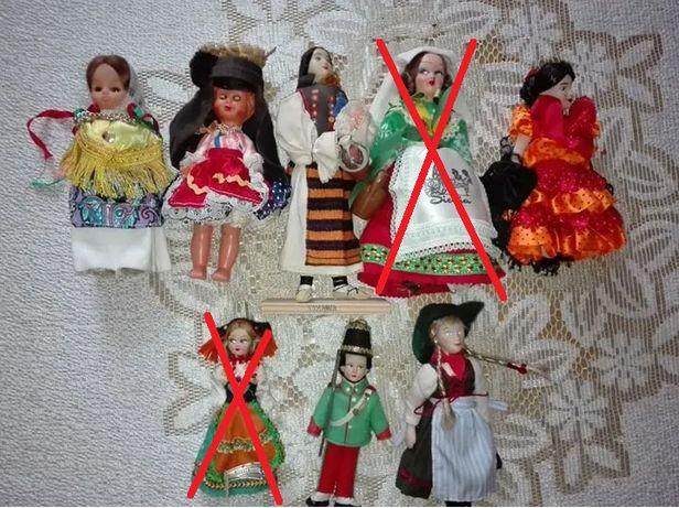Lalki w strojach ludowych
