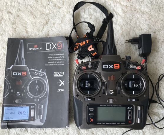 Аппаратура Spektrum dx9 девятиканальная радиоаппаратура